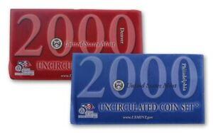 """2000 U.S. Mint Set """"BU"""" *Free S/H After 1st Item*"""