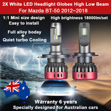 For Mazda BT-50 BT50 2013 2014 Headlight Globes High Low Beam LED bulbs 18000LM