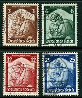 Germany 1935 Saar Restoration SG # 562-65  VFU 🔥 Z369
