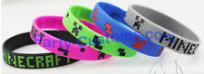 5 pack of Minecraft Silicone bracelets Birthday Party Favors