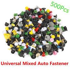 500*Car Door Panel Trim Fender Bumper Fastener Rivet Retainer Push Pin Clips Mix