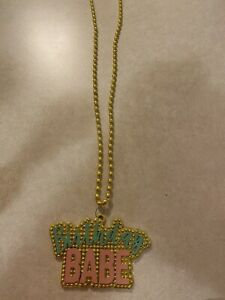Party Supply -Birthday BABE Bead Necklace