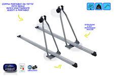 Portabici da tetto Menabo' Top Bike in acciaio portata 15 kg