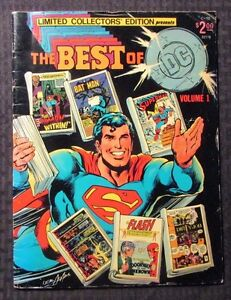 1977 DC Treasury C-52 THE BEST OF DC Volume 1 VG 4.0 Neal Adams Superman