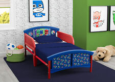 Pj Masks Toddler Bed Guard Rails Steel Frame Kids Bedroom Child Furniture Blue