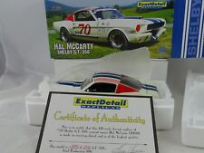 1:18 Esatto Dettaglio - 1966 Shelby G.T.350 Hal Mccarty #70 -raritaet $