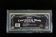 BCW Deluxe Currency Slabs – Dollar or Regular Bill Size - Stackable