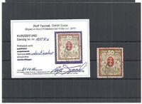 Danzig, Gdansk 1920, Einzelmarken aus MiNrn: 21 - 138 o,alle tiefst geprüft  BPP