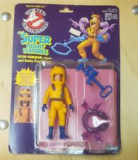 1986 Kenner The Real Ghostbusters Peter Venkman W/Super Fright Features New