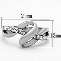 Stainless Steel  Women's Ring , Statement Piece Jewelry Hypoallergenic, NEW!!