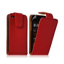 Housse coque étui pour Apple Ipod 4G couleur rouge + film protection écran
