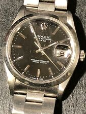 Rolex Date Mid Size 15200 34mm Index Dial Stainless Steel