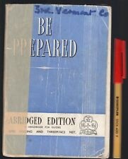 1950 2nd Edition  BE PREPARED A Handbook for Girl Guides A M MAYNARD