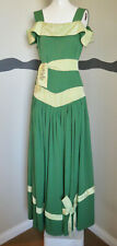 New listing Vintage Fabulous 40s Gown Off the Shoulder Full Skirt