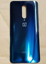 oem OnePlus 7 Pro Back Cover Glass Battery Housing Door Replacement Blue