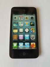 Apple 8GB iPod 4th Generation Touch MP3, A1367, Black Silver, see description.