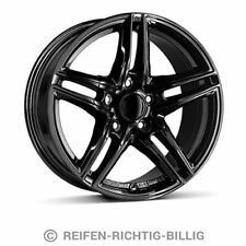 4 x Alufelge Borbet XR 7,5x17 ET45 black glossy