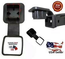 "2"" Trailer Tow Hitch Receiver Cover Plug Dust Cap Fit Toyota Lexus Jeep GMC Ford"