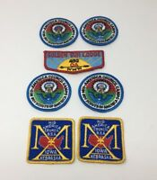 Mid America Council Iowa Nebraska BSA Boy Scouts Patch Lot of 7 New NOS 17-2447
