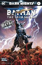 BATMAN THE MERCILESS 1 1ST PRINT FOIL STAMPED COVER METAL TIE IN NM