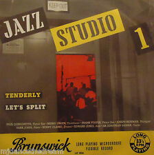 JAZZ STUDIO ONE - Tenderly / Lets Split ~ VINYL LP