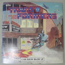 TRANSFORMERS MARVEL STORY BOOK 1986 CAR SHOW BLOW UP