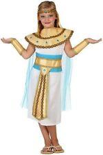 Déguisement Fille Reine Egypte Cléopatre 7/8/9 Ans Costume Enfant Egyptienne