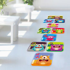 Cartoon Children Nursery Vinyl Hopscotch Play Game Art Decal Wall Floor Sticker