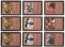Magic The Gathering MTG ONSLAUGHT Red Mana Uncommon Cards x12 -Unplayed VG/NMint