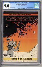 CEREBUS #2 CGC VF/NM 9.0 1978 AARDVARK-VANAHEIM 2ND APPEARANCE OF CEREBUS
