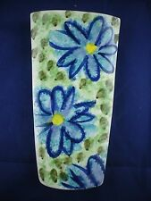 Dalton Pottery Floral WALL POCKET VASE  GEOFF & JENNY FINCH Scotland