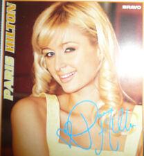 Paris Hilton Autogrammkarte Autogramm Sammeln Sammlung ohne Unters..