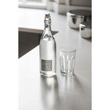 Garden Trading Tap Water Bottle - Glass Water Bottle - Lovely gift idea