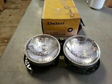 NOS Headlight Assembly 1960 Pontiac OEM GM w NOS T3 Light Bulbs Bonneville Catal