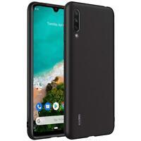 Hülle für Xiaomi Mi 9 Lite Schutzhülle Handy Hülle Slim Case Weich Matt Schwarz