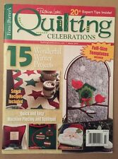 Quilting Celebrations Fons Porter Projects Templates Winter 2014 FREE SHIPPING!