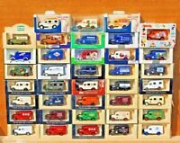 LLEDO DIECAST MODELS 1950 BEDFORD VANS FROM £1.99 YOUR CHOICE  FROM LIST LOT 63