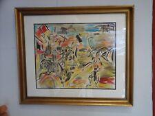 Gen Paul, aquarelle, Montmartre, Paul Trelade