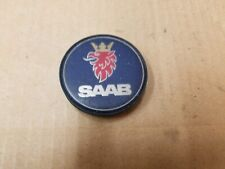 "Saab OEM 2003-2007 9-3 9-5 Blue Plastic 2.5"" Center Cap Hub Dust Cover 12775052"