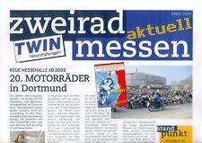 Zweirad Messen 2004 Triumph Rocket III BMW R 1200 GS KLV Motorrad Motorräder
