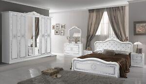 Luisa Luxury Italian 4Door Bedroom Set (RRP £1399) Now £899