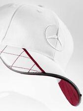 original Mercedes Benz Basecap Cap Hat white red Embroidery Logo 3D Star NEW