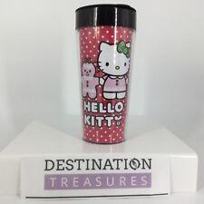 Hello Kitty Christmas Holiday Gingerbread 16 oz To Go Mug Cup NIB
