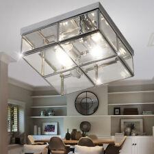 Design Lampe Spot Chambre à coucher éclairage plafond chrome verre SPOT LAMPE