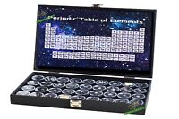 24 Periodic Table Elements in Show Case Box, 24 Elements Set, Chemistry Set