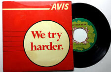 "AVIS Promotional | Johnny Nash • We Try Harder • 1969 7"" 45 w/ Promo Sleeve+"