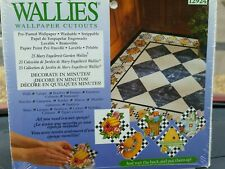 Wallies Washable Removable Wallpaper Cutouts Mary Engelbreit Garden 12924 New