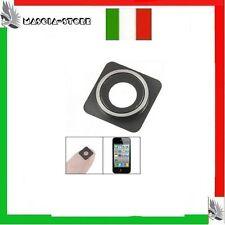 LENTE per FOTOCAMERA POSTERIORE  IPHONE 4 4S  Apple  anello Camera Ricambio