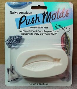AMACO - Polymer Clay Feather Push Mold
