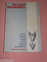 VINTAGE BSA BOY SCOUTS OF AMERICA 1969 REQUIREMENTS  BOOKLET